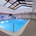 Swimming pool at Courtyard by Marriott Rockaway Mount Arlington