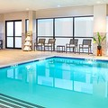 Swimming pool at Crowne Plaza Boston Woburn