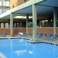 Swimming pool at Crowne Plaza Dayton