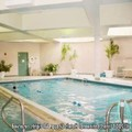 Swimming pool at Crowne Plaza Nashua