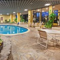 Swimming pool at Crowne Plaza Suites Houston