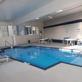 Swimming pool at Dawson Village Inn