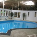 Swimming pool at Days Inn Blainville