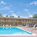 Swimming pool at Days Inn & Conference Center Branford