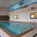 Swimming pool at Days Inn Hillsdale