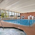 Swimming pool at Days Inn La Crosse Conference Center
