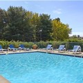 Swimming pool at Days Inn Mystic