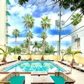 Swimming pool at Days Inn North Miami Beach Fl