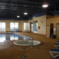 Swimming pool at Days Inn Owen Sound Ontario Canada