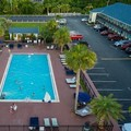 Swimming pool at Days Inn & Suites Amelia Island at the Beach