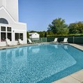 Swimming pool at Days Inn & Suites Groton Near The Casinos