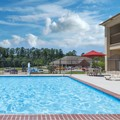 Swimming pool at Days Inn & Suites Huntsville