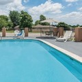Swimming pool at Days Inn & Suites Springfield