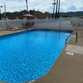 Swimming pool at Days Inn Wheelersburg Portsmouth