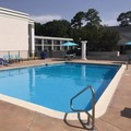 Swimming pool at Days Inn of Natchez