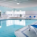 Swimming pool at Delta Sault Ste. Marie Waterfront Hotel
