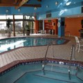 Swimming pool at Detroit Marriott Southfield