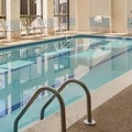 Swimming pool at Doubletree Detroit Novi