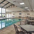Swimming pool at Doubletree Hotel Princeton