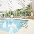Swimming pool at Doubletree Hotel by Hilton Rochester