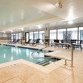 Swimming pool at Doubletree Schenectady