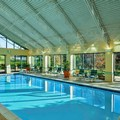 Swimming pool at Doubletree Suites by Hilton Philadelphia West