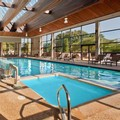 Swimming pool at Doubletree by Hilton Boston North Shore