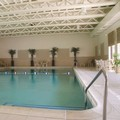 Swimming pool at Doubletree by Hilton Chicago Alsip