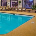 Swimming pool at Doubletree by Hilton Chicago Schaumburg