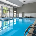 Swimming pool at Doubletree by Hilton Chicago Wood Dale Elk Grove