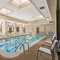 Swimming pool at Doubletree by Hilton Detroit Novi
