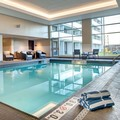 Swimming pool at Doubletree by Hilton Halifax Dartmouth