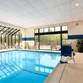 Swimming pool at Doubletree by Hilton Hartford Bradley Airport