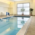 Swimming pool at Doubletree by Hilton Milwaukee Brookfield