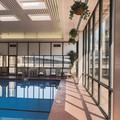 Swimming pool at Doubletree by Hilton Omaha