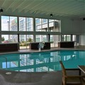 Swimming pool at Doubletree by Hilton Omaha Southwest