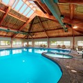 Swimming pool at Doubletree by Hilton Port Huron