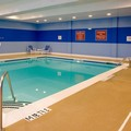 Swimming pool at Doubletree by Hilton Raleigh Cary