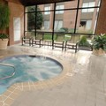 Swimming pool at Doubletree by Hilton Syracuse