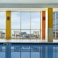 Swimming pool at Doubletree by Hilton Washington DC Silver Spring