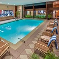 Swimming pool at Doubletree by Hilton at the Philadelphia Airport