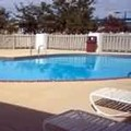 Swimming pool at Econo Lodge Terre Haute