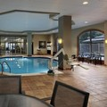Swimming pool at Embassy Suites Dulles Airport