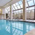 Swimming pool at Embassy Suites Hotel
