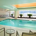 Swimming pool at Embassy Suites at the Chevy Chase Pavillion