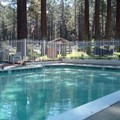 Swimming pool at Emerald Bay Lodge
