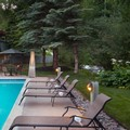 Swimming pool at Evergreen Lodge at Vail