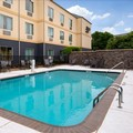 Swimming pool at Fairfield Inn Arlington