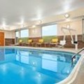 Swimming pool at Fairfield Inn Dubuque