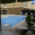 Swimming pool at Fairfield Inn East